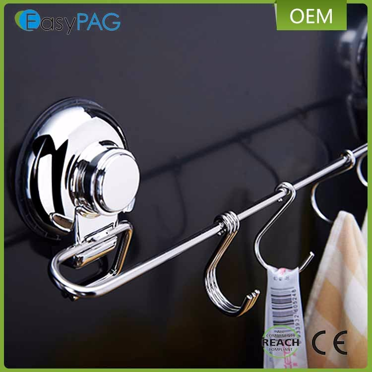 Factory Direct Supply Home Supplies Heavy Duty Capacity Wall Mounted Vacuum Suction Cup Hook