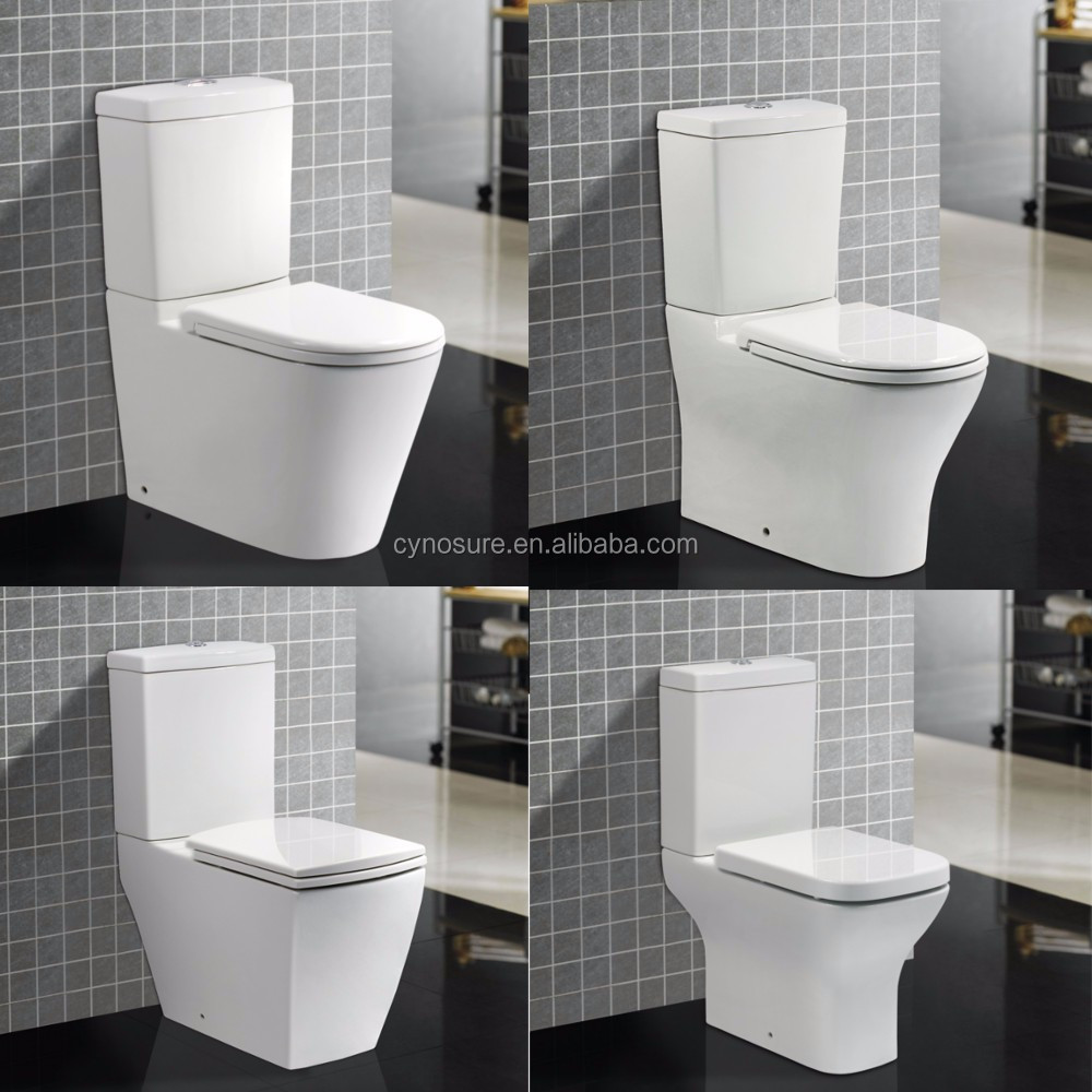 10 YEARS WARRANTY High Quality Washdown P-trap or Siphonic S-trap Bathroom Sanitary Ware Toilet,