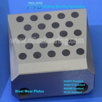2965.83.oiles Steel alloy Sliding bearing Plate, OEM quality Punch Wear graphite plates