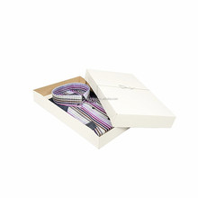 eco friendly plain white t-shirt cardboard gift box with lid manufacturer