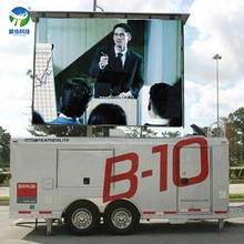 best price p8 full color video mobile trailer led display screen for advertising with cheapest