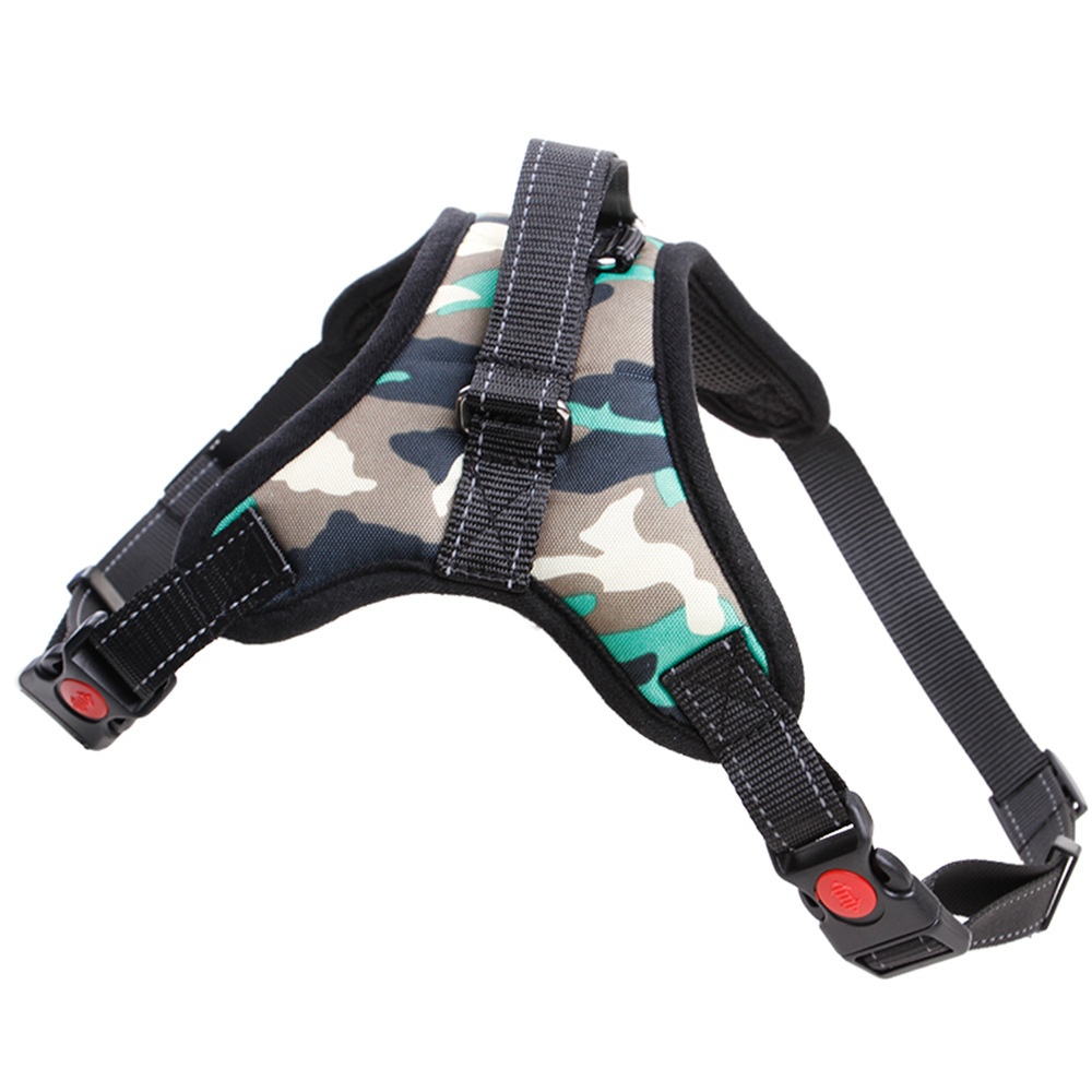 2018 High-end pet <strong>dog</strong> harness military for medium and big <strong>dogs</strong>