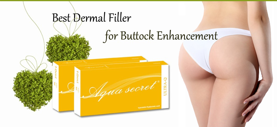hyaluronic acid hydrogel buttock bulk injectable dermal filler