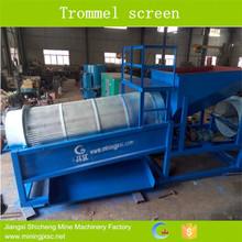 Trommel washing plant 100tph with water system
