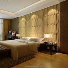 pvc waterproof paintable carved mdf decorative wall panel