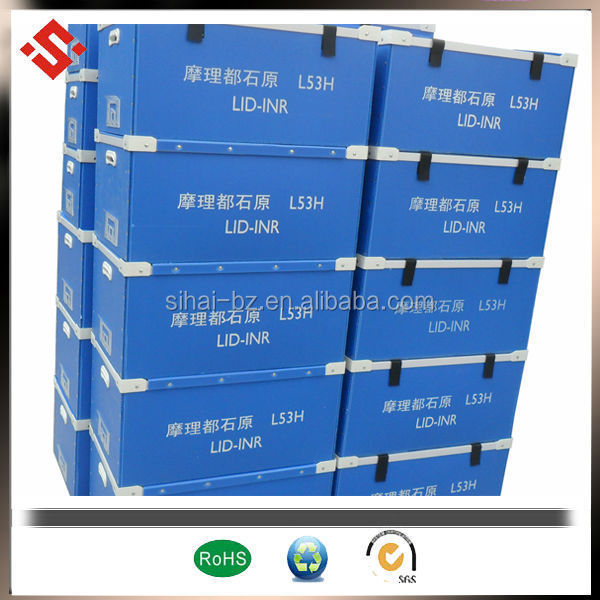 pp corrugated plastic turnover box