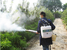 Highly effective fruit tree power sprayer with new model
