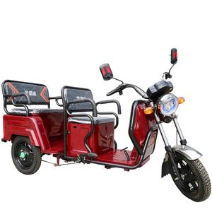Foldable electric rickshaw 3 wheels motorcycle scooter e trike bajaj philippines