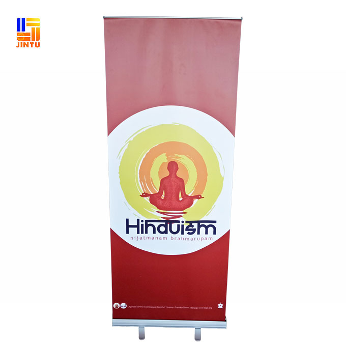 digital print vinyl retractable roll up banner stands