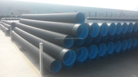 12'' 300mm SN8 hdpe corrugated pipe with rubber ring connection