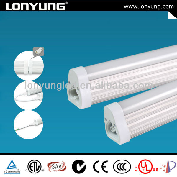 high quality 6000k t5 integrated banner led tube ce saa listed 15w