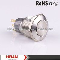 CE ROHS lift push button switch