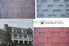 colorful Laminated standard asphalt roof shingles