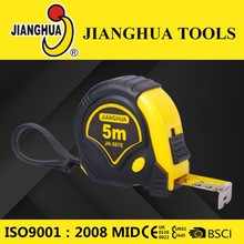 Impact Resistant Rubber Injected Steel Tape Measure for Construction
