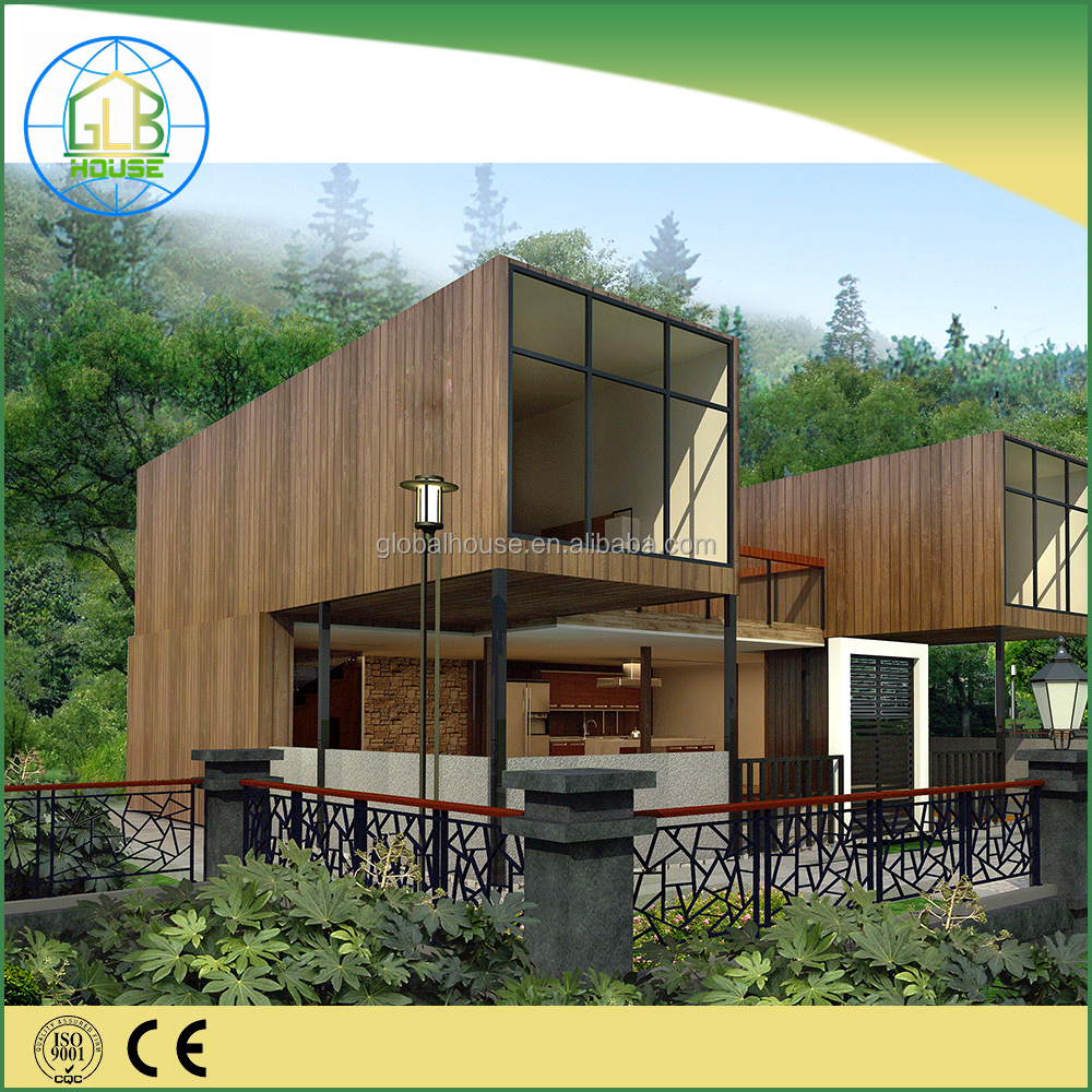 Global hosuing 20Ft pre-made container prefab house plan with decoration