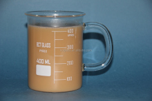 400ml Glass coffee mug