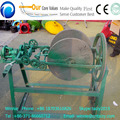 grass straw rope knitting machine jute rope making machine