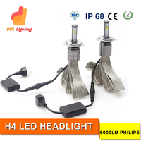 Hot copper braid belt car H4 auto led headlight