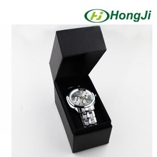Fashionable black cardboard gift box packaging watch box paper