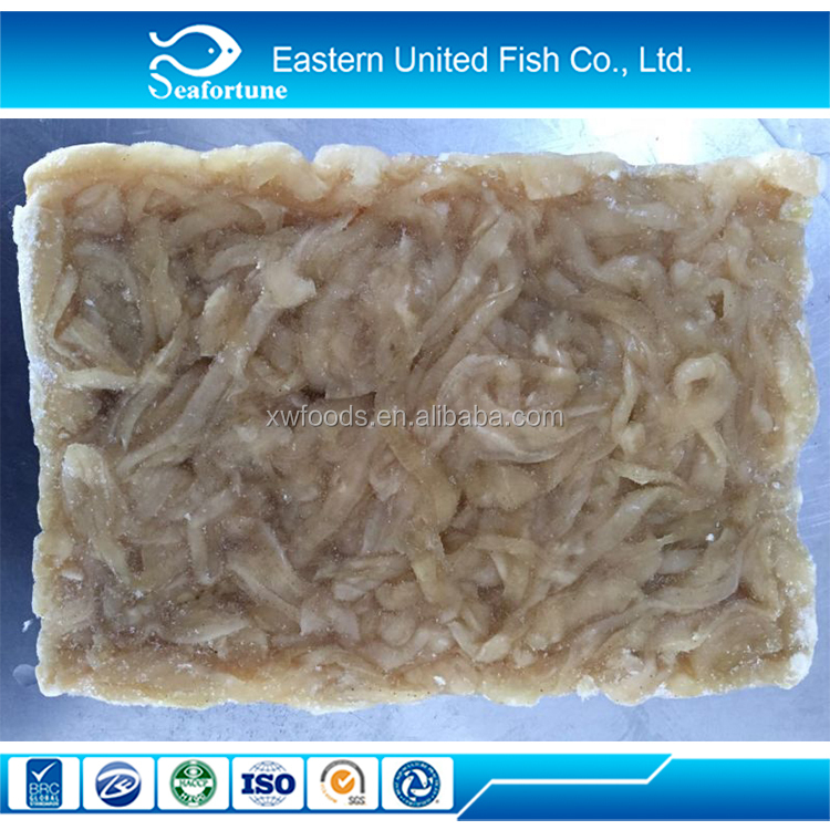 China Seafood IQF Frozen Scallop Mantle