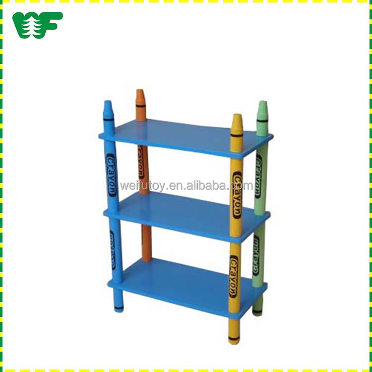 2016 new customized size wooden wall shelf design