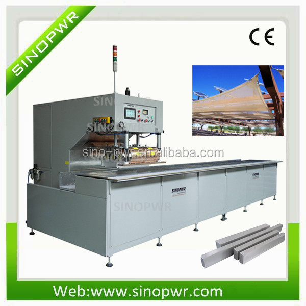 PVC oil fence making machine