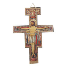 Hot selling fashionable european style christian wooden crucifix wall cross