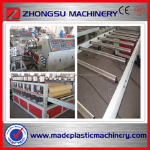3-25mm 1220mm Hot WPC Shuttering Construction Production Line/Plastic Wood Machine/Building Template Production Line