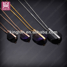 hot selling stainless steel wholesale replica vintage crystal necklace