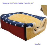 Top level nice grade soft pet bed dog house pet new