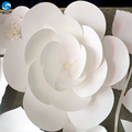 Wholesale popular white Wedding new design paper flowers lotus for wedding