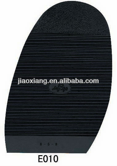 Rubber Outer Half Soles E010 for Shoe Repair
