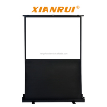 100'' 16:9 projector screen pull up floor up portable projection screen