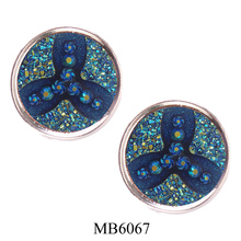 Strong magnetic funny fashion elegant brooch