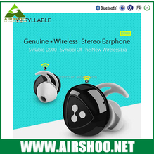 Mini Bluetooth Earphone Stereo Wireless Invisible Headphones Syllable D900 Super Headset Music