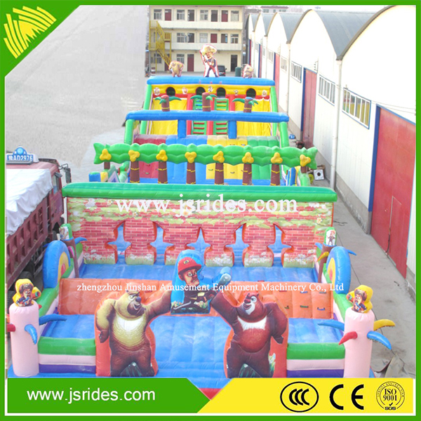 cheap price inflatable obstacle course equipment adult obstacle course for sale