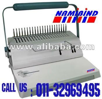 spiral wire binding machine