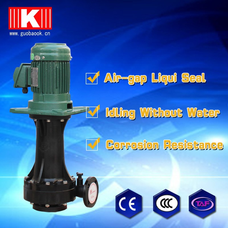 7.5hp corrosion resistant submersible sewage pump