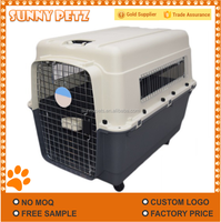 Pet Dog Air Box Large Pet Cage With Wheels