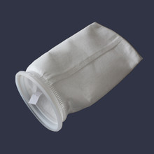 <strong>1</strong> Micron 7x17'' PP Filer Bag With Plastic Ring For Water Filter