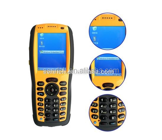 Handheld China Bluetooth Barcode Scanner PDA with 3G / WIFI / GPS