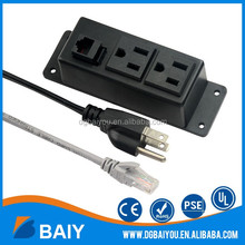 China manufacturer American plug conference table power socket outlets for desktop