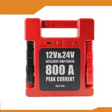Multi-function 24000mAh portable Electric emergency power bank jump start 12V/24v gasoline diesel car/truck battery jump starter