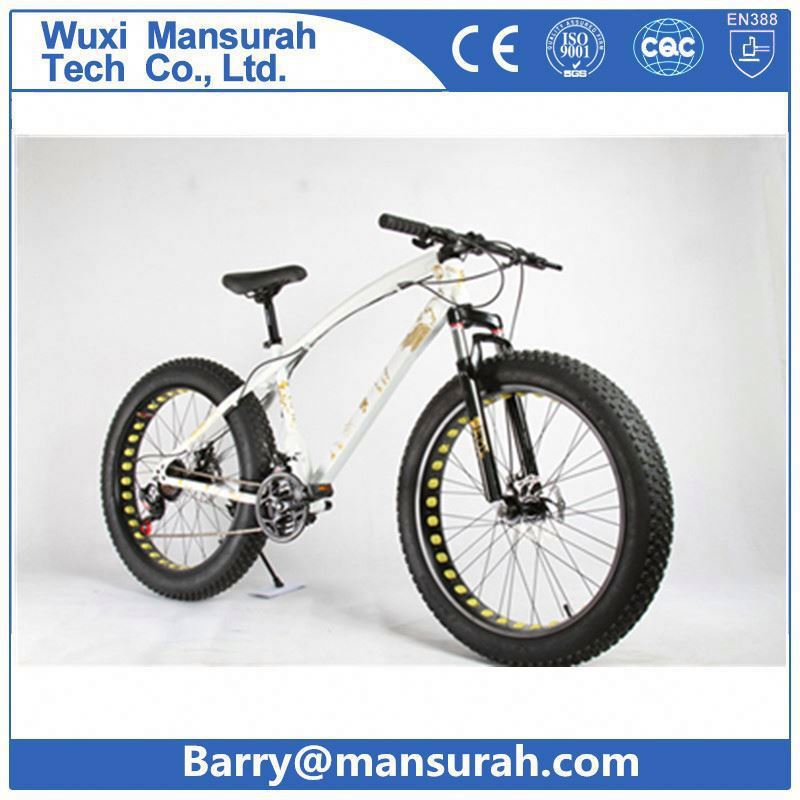 Adult chopper Light weight fat bike 26 / Sports suspension fork fat bicycle / cheap price beach cruiser fat tyre cycle for sale