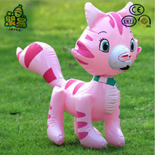Pvc inflatable cat toys for kids,inflatable superman toys for kids
