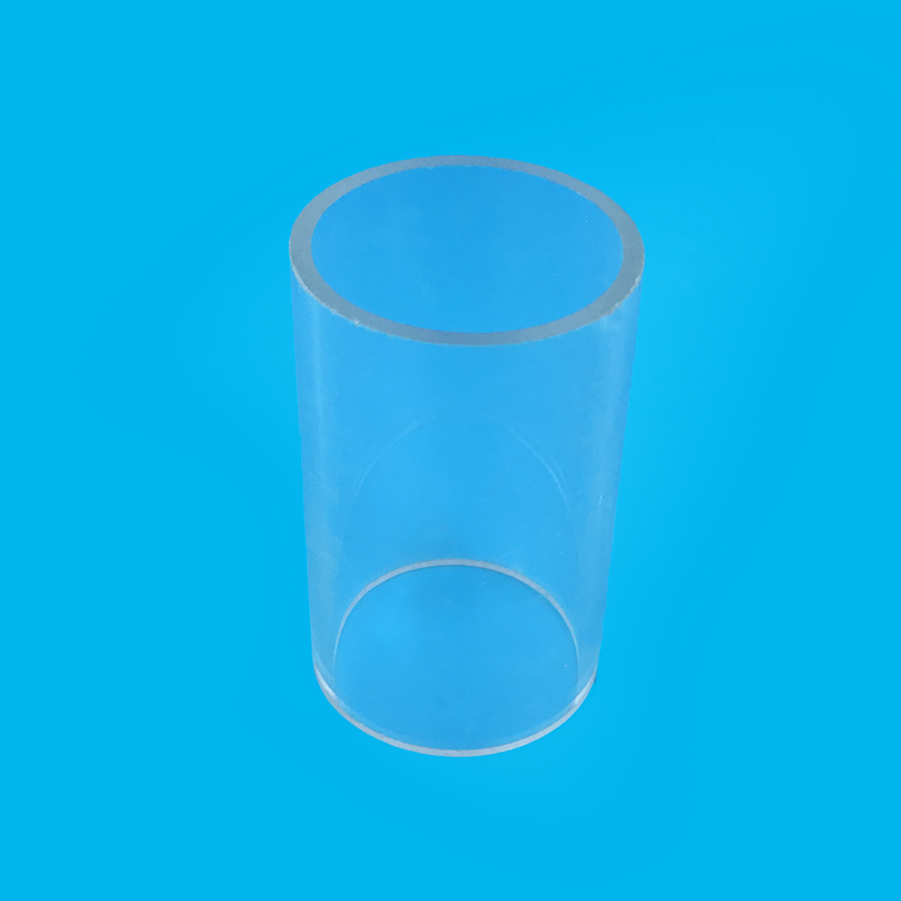 Thin Glass Electrical Acrylic / PMMA Pipe