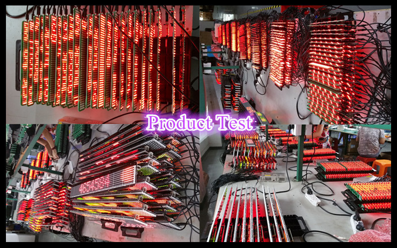 P7.62-7x48 RG double color single line programmable LED sign customize computer USB/RS232/TCP-IP/WIFI and remote control