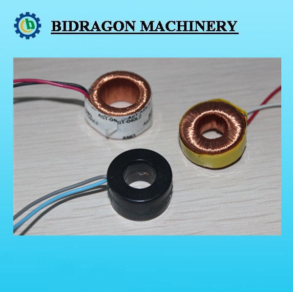 with base toroidal choke coils/ common mode inductor coils