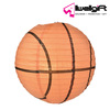 Promotion Giveaways Led Decorations Lantern Basketball Shaped Paper Lantern