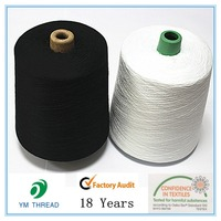 Core Ring Polyester Spun Yarn Suppliers from China